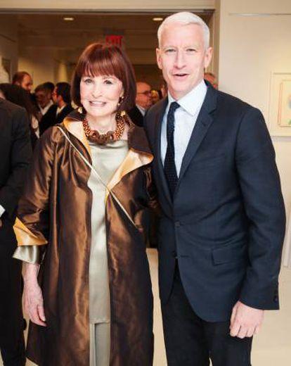 Gloria Vanderbilt, con su hijo Anderson Cooper.