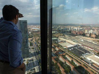 Vista aérea de los terrenos donde se desarrollará la conocida como Operación Chamartín en Madrid En vídeo, así será Madrid Nuevo Norte.