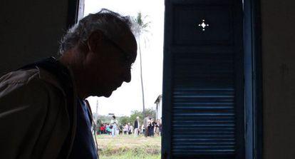 Umberto Trigueiros Lima, en la casa donde fue torturado en Río.