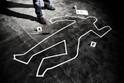 Los cadáveres son elementos clave en las novelas de género negro.
