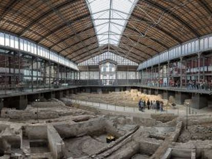 El yacimiento del Born, que será objeto de excavaciones en 2016 para conocer todo su potencial.