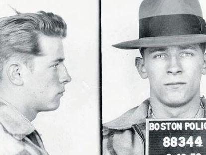 Fotos del primer arresto de James 'Whitey' Bulger en 1953.