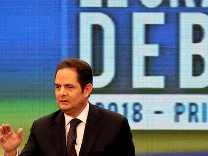 Germán Vargas Lleras, en 2018, cuando fue candidato a la presidencia de Colombia.