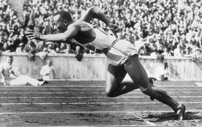 Jesse Owens, en 1937