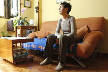 Carmen Ovejero, enferma de síndrome de fatiga crónica y fibromialgia.