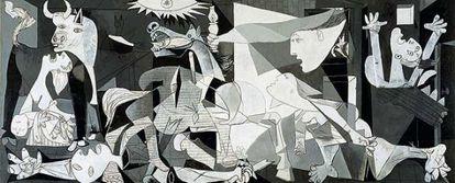 Imagen del 'Guernica' de Picasso.