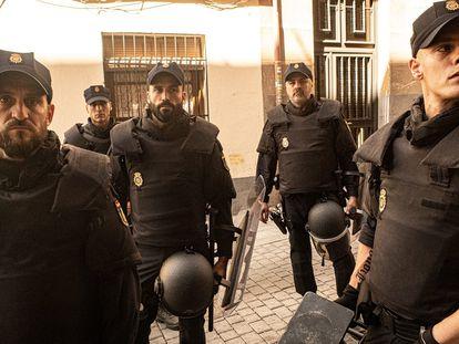 Una imagen de la serie 'Antidisturbios'.