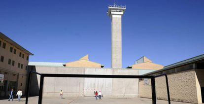 Patio de la cárcel de Soto del Real en Madrid.