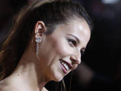 Irene Escolar, en la gala de entrega de los premios Fotogramas de plata del pasado 4 de marzo.