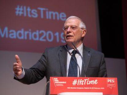 El ministro de Exteriores fue presidente del Parlamento Europeo entre 2004 y 2007