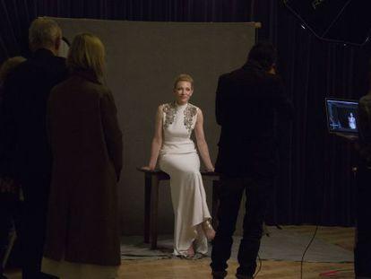 Cate Blanchett, retratada hace 15 días durante el Festival de Cine de Londres.