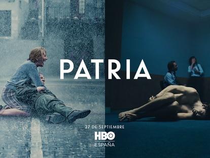 El cartel de 'Patria' diseñado por HBO España