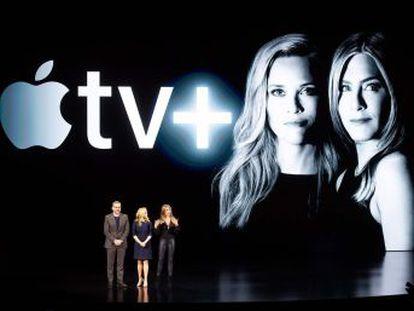 Apple TV + competirá con contenidos propios con Netflix, HBO o Disney