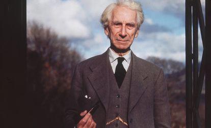 Bertrand Russell, en una imagen tomada alrededor de 1965.