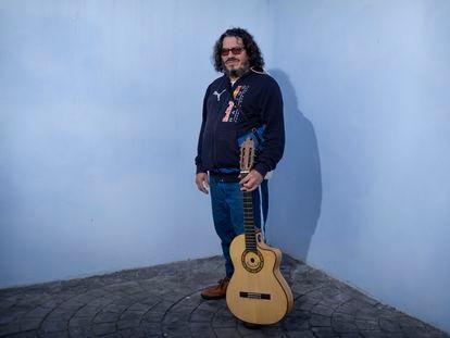 Raimundo Amador, este miércoles en Valencina de la Concepción, Sevilla.