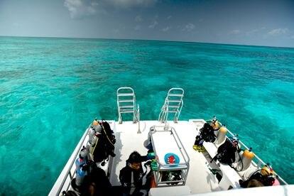 El arrecife de coral de Belice es el segundo más grande del mundo y auténtica joya turística del país.