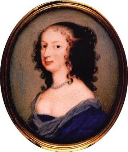 Retrato de Margaret Cavendish.
