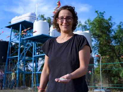 Isabel Díaz, química e investigadora del Consejo Superior de Investigaciones Científicas (CSIC), que ideó una nueva tecnología que potabiliza agua en Etiopía.