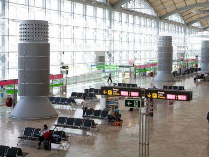 Aeropuerto de Alicante-Elche.
