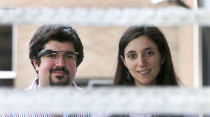 Víctor Sánchez y Alicia Díez de MashMe Tv.