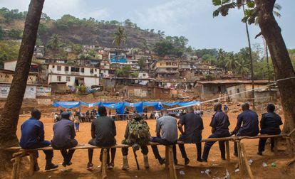 Elecciones presidenciales en Sierra Leona el 31 de marzo de 2018.