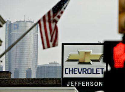 Sedes de los mayores fabricantes de automóviles estadounidenses en la ciudad de Detroit.