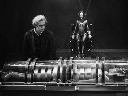 Escena de la película 'Metrópolis'.
