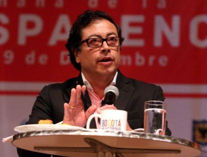 El alcalde de Bogotá, Gustavo Petro.