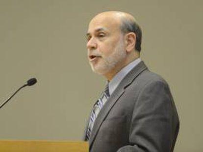 El presidente de la Reserva Federal estadounidense (Fed), Ben Bernanke.
