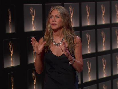 Jennifer Aniston, en los premios Emmy el pasado 20 de septiembre.