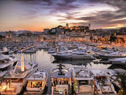 Vista de la localidad de Cannes