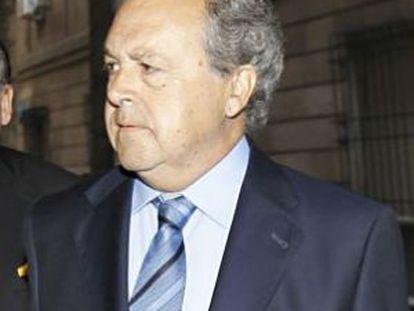Pérez Sauquillo, a su llegada en mayo a los juzgados de Sevilla.