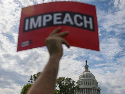 Movilización a favor del impeachment contra Donald Trump.