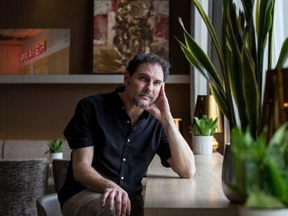 Carlos Cuarón, guionista y cineasta mexicano, hoy en Málaga.