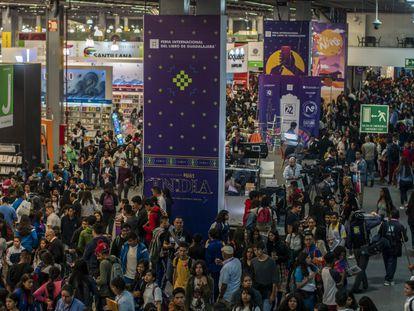 Aspecto de la Feria Internacional del Libro de Guadalajara en su edición del año pasado.