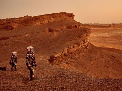 Avance de 'Marte'.