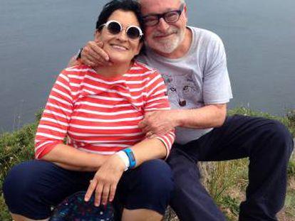 Fernando Savater y su esposa, Sara Torres, en una imagen de 2014.