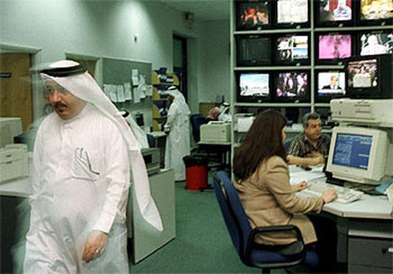 Estudios centrales de Al Yazira en Duhá, capital de Qatar.