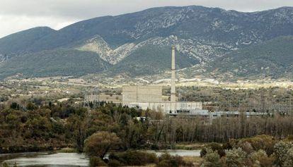La nuclear de Garoña, en Burgos.