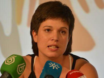 La militante del PSOE, Beatriz Talegón.