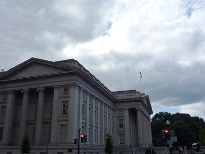 Sede del departamento del Tesoro de EE UU.