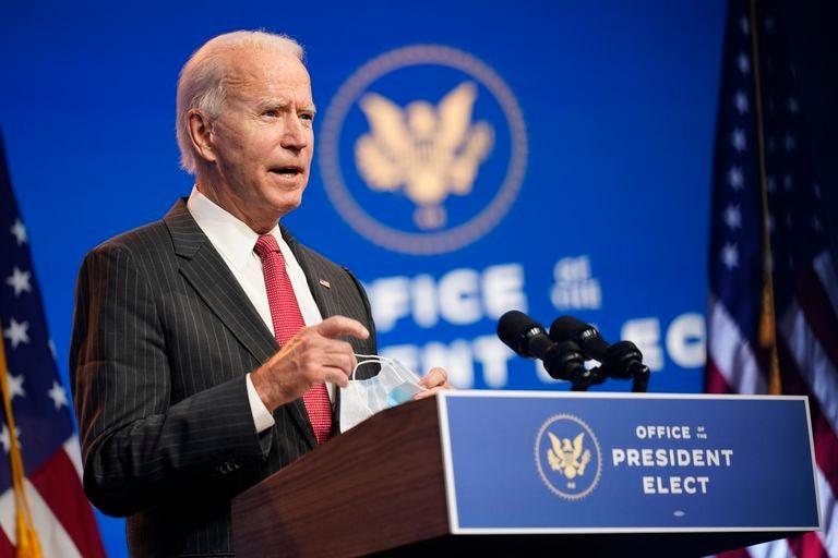 Joe Biden en Wilmington