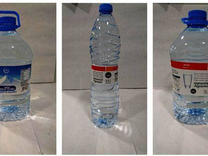 Los envases retirados de Condis y Eroski