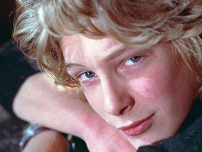 Fotograma de Björn Andrésen en la película El chico más bello del mundo.