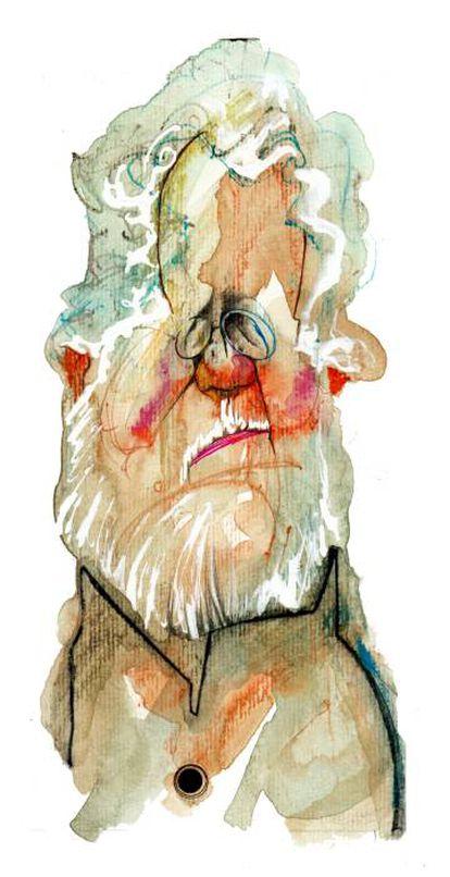 Héctor Abad Faciolince, visto por Sciammarella.