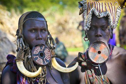 En la cuenca del río Omo conviven algunas de las más emblemáticas tribus de África.