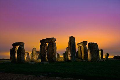 Monumento de Stonehenge, en Amesbury, Inglaterra