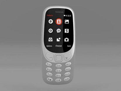 El antiguo Nokia 3310, renovado.
