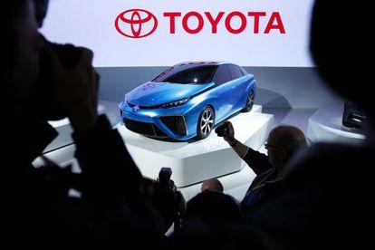 Un prototipo de Toyota, en la feria de Tokio del motor.