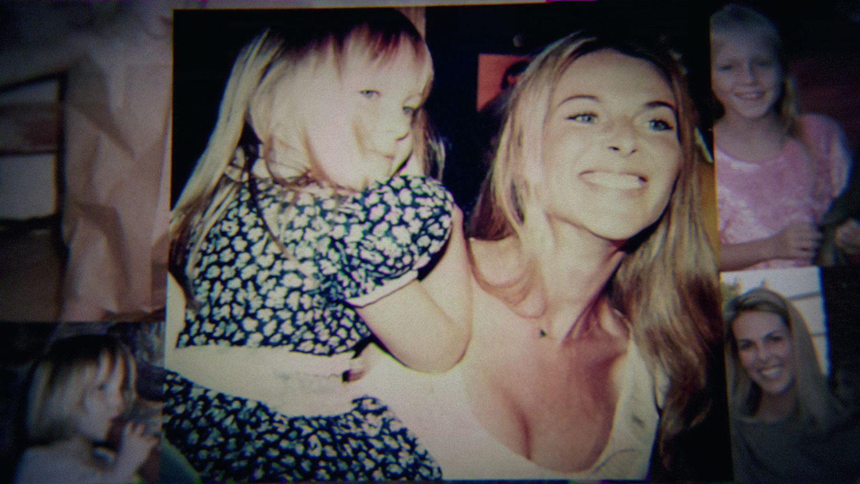 Catherine Oxenberg y su hija India en una foto familiar.